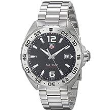 Tag Heuer Men's WAZ1112.BA0875 Formula 1 Analog Display Swiss Quartz Silver Watch