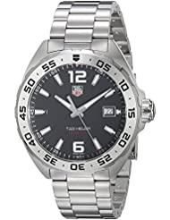 TAG Heuer Mens WAZ1112.BA0875 Formula 1 Stainless Steel Watch