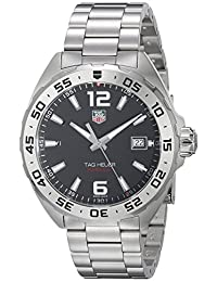 Tag Heuer Men's WAZ1112.BA0875 Formula 1 Analog Display Swiss Quartz Silver Watch