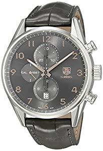 TAG Heuer Men's CAR2013.FC6313 Analog Display Automatic Self Wind Black Watch