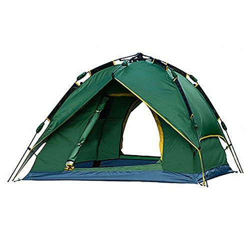 調停する持続する悪性の(ハッピー?ライフ)Happylife 自動テント キャンプテント 軽量 3-4人用 キャンプ用品 アウトドア ビーチ?海水浴?砂浜?防災 日除け