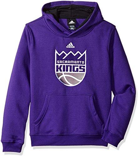 OuterStuff NBA Youth 8-20 Sacramento Kings Prime Pullover Hoodie -Regal Purple-M(10-12) Sacramento Kings Adidas Pullover