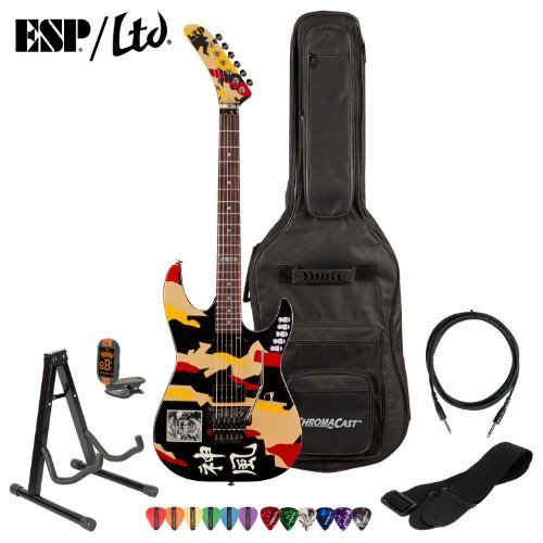 ESPLTD-GL-200K-Signature-Series-George-Lynch-Electric-Guitar-with-Cable-Strap-Stand-Picks-Gig-Bag