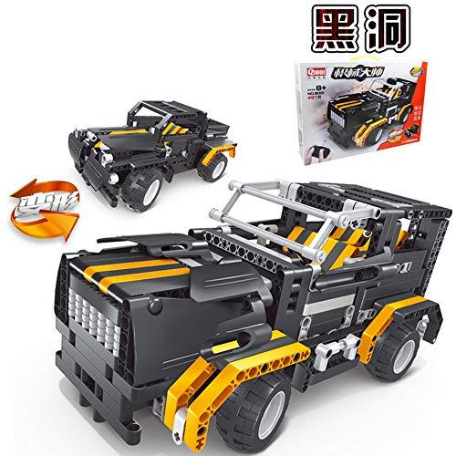 QIHUI 启辉 儿童积木拼装玩具 黑洞战车
