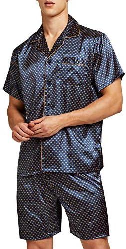 Satin Pajamas Button Down Sleepwear Loungewear product image
