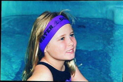 Water Gear Neoprene Head Band for Swimming - - Swimming Neoprene Cap