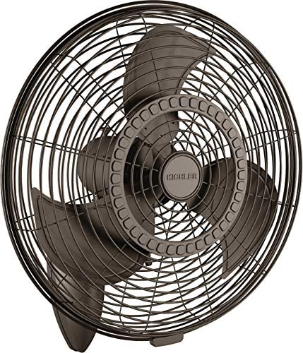 Kichler 339224SNB Pola 24″ Outdoor Wall Fan