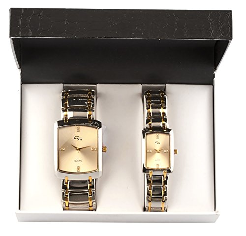 charles-raymond-his-and-hers-watch-set-with-silvertone-metal-band-goldtone-face-cr-1