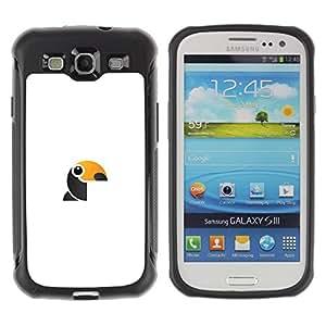 Suave TPU GEL Carcasa Funda Silicona Blando Estuche Caso de protección (para) Samsung Galaxy S3 III I9300 / CECELL Phone case / / woodpecker cute /