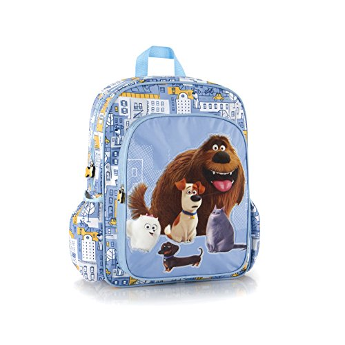 Heys Secret Life Of Pets Deluxe Brand New Classic Designed Multicolored Adjustable Foam Padded Shoulder Straps Kids Backpack 15 - Uk Kors