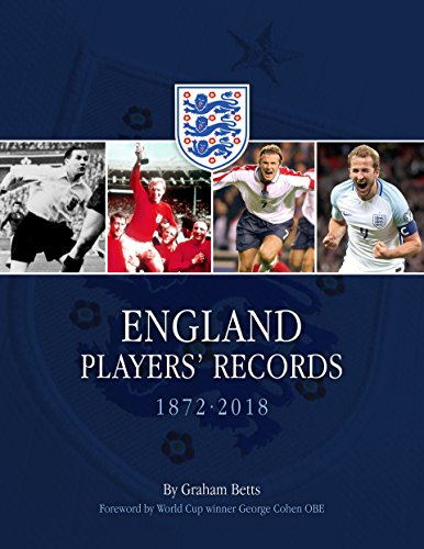 England Players Records 1872-2018