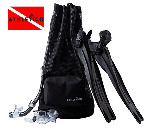 Athletico Scuba Diving Bag - Mesh Travel Backpack for Scuba Diving and Snorkeling Gear & Equipment - Dry Bag Holds Mask, Fins, Snorkel, and More Photo #7