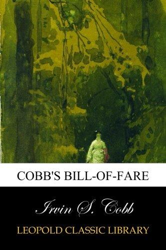 Download Cobb's Bill-of-Fare ebook
