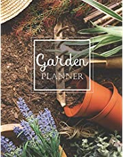 Garden Planner: Log Book and Journal for Personal Garden Record