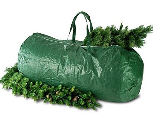Prextex Deluxe Extra Strong Christmas Tree Storage Bag Fits up to 9 Foot Tree! No Model