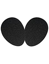 SOUMIT High Heel Protector - Self-Adhesive Rubber Sole Cover, Non-Slip Shoe Support Pads for Stilettos/Sandals/Boots (1 Pair, Men & Women)