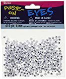 Darice 410-Piece Paste on Eyes, 4ml