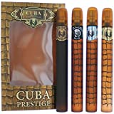 Cuba Prestige by Cuba, 4 Piece Gift Set for Men