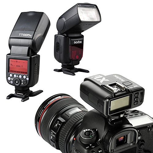 Godox X1T-C 2.4G E-TTL Wireless LCD Flash Transmitter for Canon Camera (X1T-C) by Godox (Image #3)
