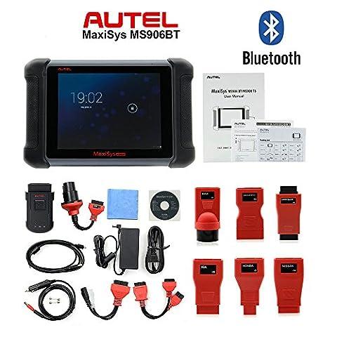 Original AUTEL MaxiSYS MS906BT Car Diagnostic Tool Autel MS906 BT Bluetooth ECU Coding Update Online (Bt Diagnostic)