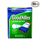 GoodNites Disposable Bed Mats, 80 Count (Value Pack)