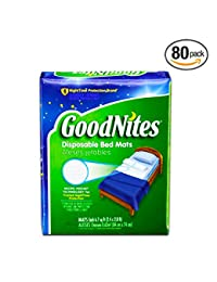 GoodNites Disposable Bed Mats, 80 Count (Value Pack) BOBEBE Online Baby Store From New York to Miami and Los Angeles