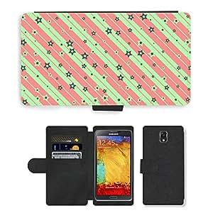 PU LEATHER case coque housse smartphone Flip bag Cover protection // M00153420 Arreglos Estética Estética // Samsung Galaxy Note 3 III N9000 N9002 N9005