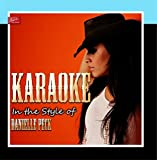 Karaoke - In the Style of Danielle Peck