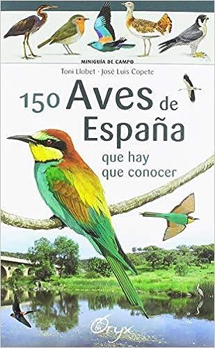 150 aves de España que hay de conocer: que hay que conocer Miniguía de campo: Amazon.es: Llobet François , Toni, Copete, José Luis: Libros
