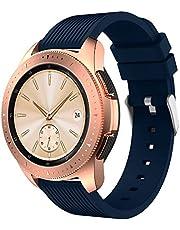 SUPORE Galaxy Watch 42 mm Armband, 20 mm Sportarmband aus weichem Silikon mit Schnellverschluss für Gear S2 Classic SM-R732 & SM-R735 / Gear Sport SM-R600 Smart Watch