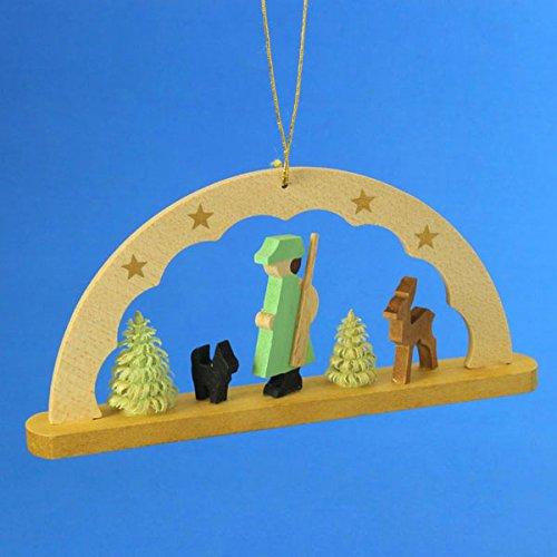 (Richard Glaesser Arch Ornament Woodsman, Germany )