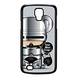 Robocop Black Hard Plastic Case for Galaxy S4 Active by Gangtoyz + FREE Crystal Clear Screen Protector