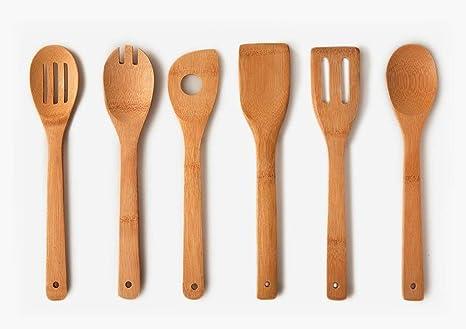 Home basic set professionale di utensili e cucchiai da cucina in