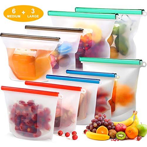 Reusable Silicone Food Storage