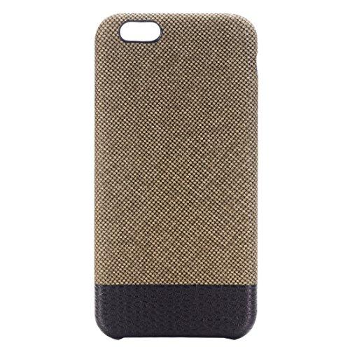 Phone Taschen & Schalen Für iPhone 6 Plus & 6s Plus Kreuz Texture Schutzmaßnahmen zurück Fall ( Color : Brown )