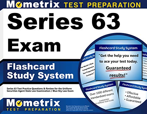 Series 63 Exam Flashcard Study System: Series 63 Test Practice Questions & Review for the Uniform Securities Agent S