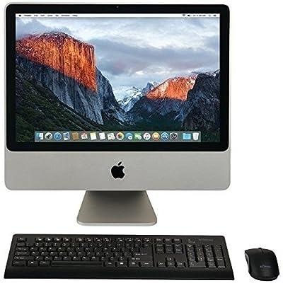 Apple iMac 20-Inch Desktop (2.66GHz Intel Core 2 Duo, 2 GB RAM, 320GB HDD Mac OS X) MB417LL/A (Certified Refurbished)