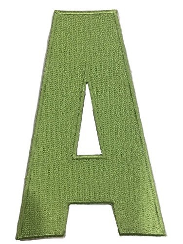 c11a28b3c18 Image Unavailable. Image not available for. Color  Hockey Style Patch Lime  Green A Patch (Alternate Captain) Iron On for Jersey Football