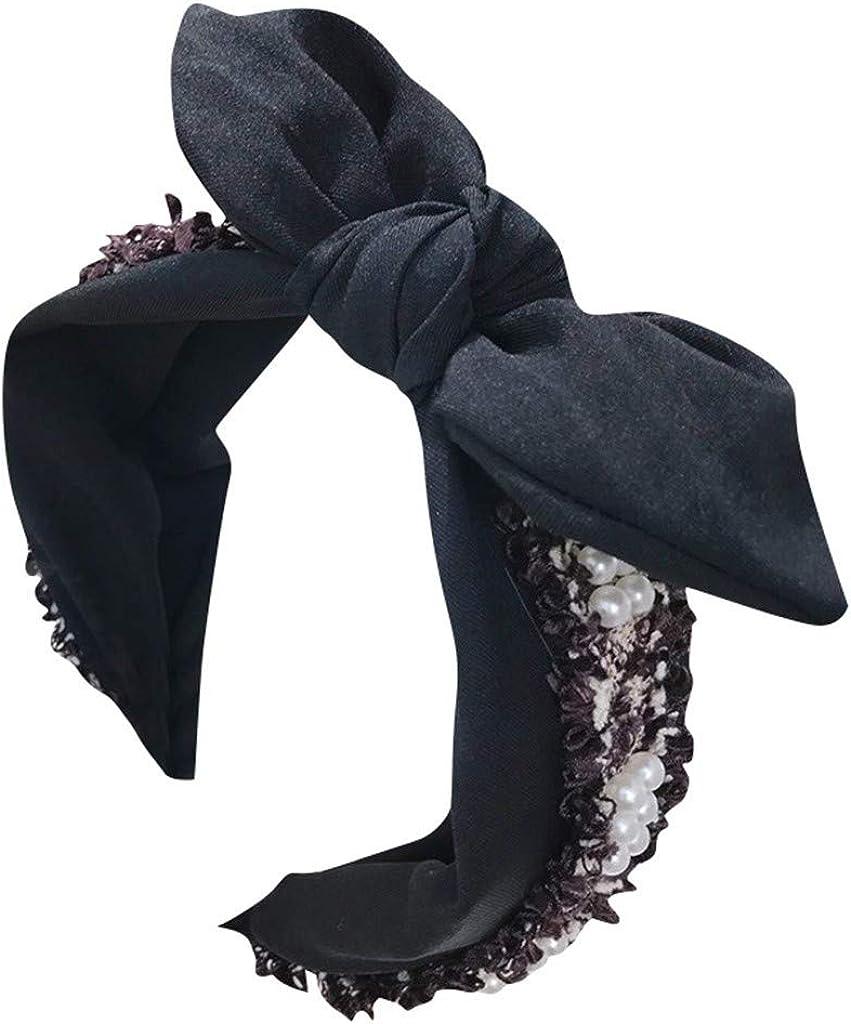 LARNOR Bow Knot Headbands...