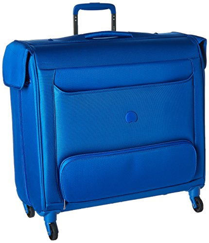 Delsey Luggage Chatillon Spinner Trolley Garment Bag, Blue (Luggage Garment Bag With Wheels compare prices)