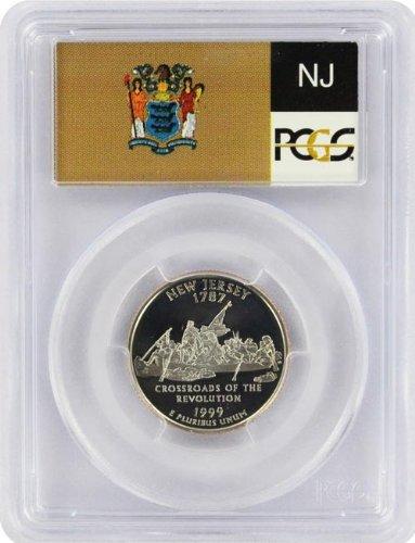 1999 New Jersey State Quarter PCGS PR-69