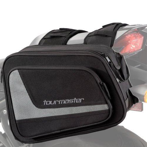 Tour Master Select Motorcycle Saddlebag - Black / 15