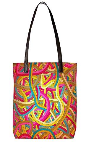Snoogg Strandtasche, mehrfarbig (mehrfarbig) - LTR-BL-5092-ToteBag