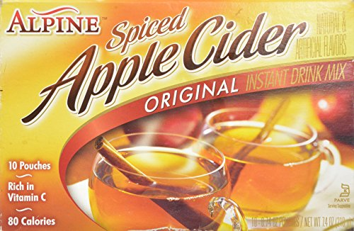 Alpine Mix Cider Orig 10ct, Net Wt 7.4 - Spiced Apple Hot