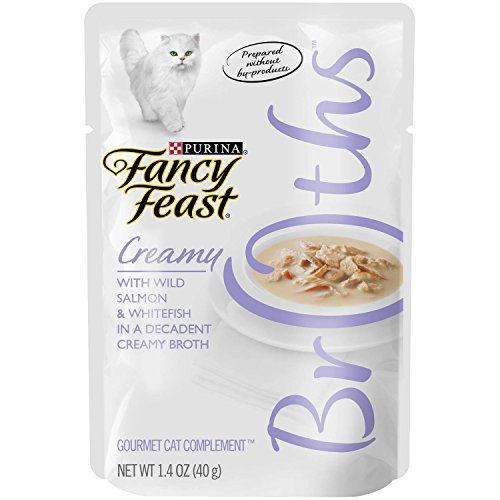 Pack of 32, 1.4 Ounce, Creamy, Wild Salmon & Whitefish Cat Food Review