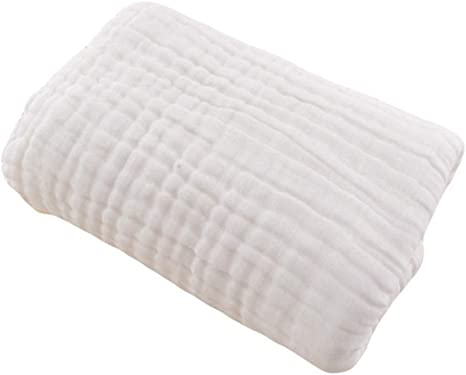 Toalla G-Tree Organic muselina del bebé, gasa de algodón super suave bebé toallas de baño,