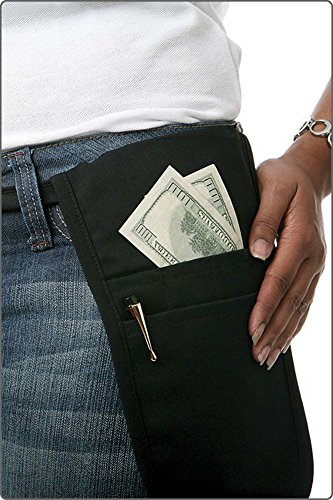 Fame Black Money Pouch]()