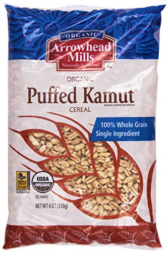 Arrowhead Mills Cereal, Puffed Kamut, 6 oz. (Cereals With No Added Sugar Or Salt)