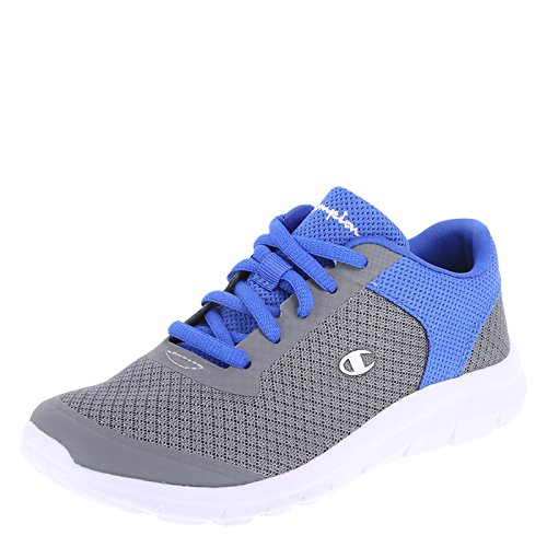 Boys Tennis Shoes - Champion Boy's Grey Royal Performance Gusto Cross Trainer Big Kid Size 3.5 Regular