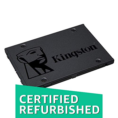 Kingston A400 SSD 120GB SATA 3 2.5 Solid State Drive SA400S37/120G - Increase Performance (Certified Refurbished)